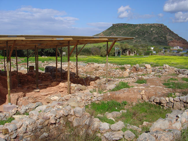 The Minoan town of Palekastro